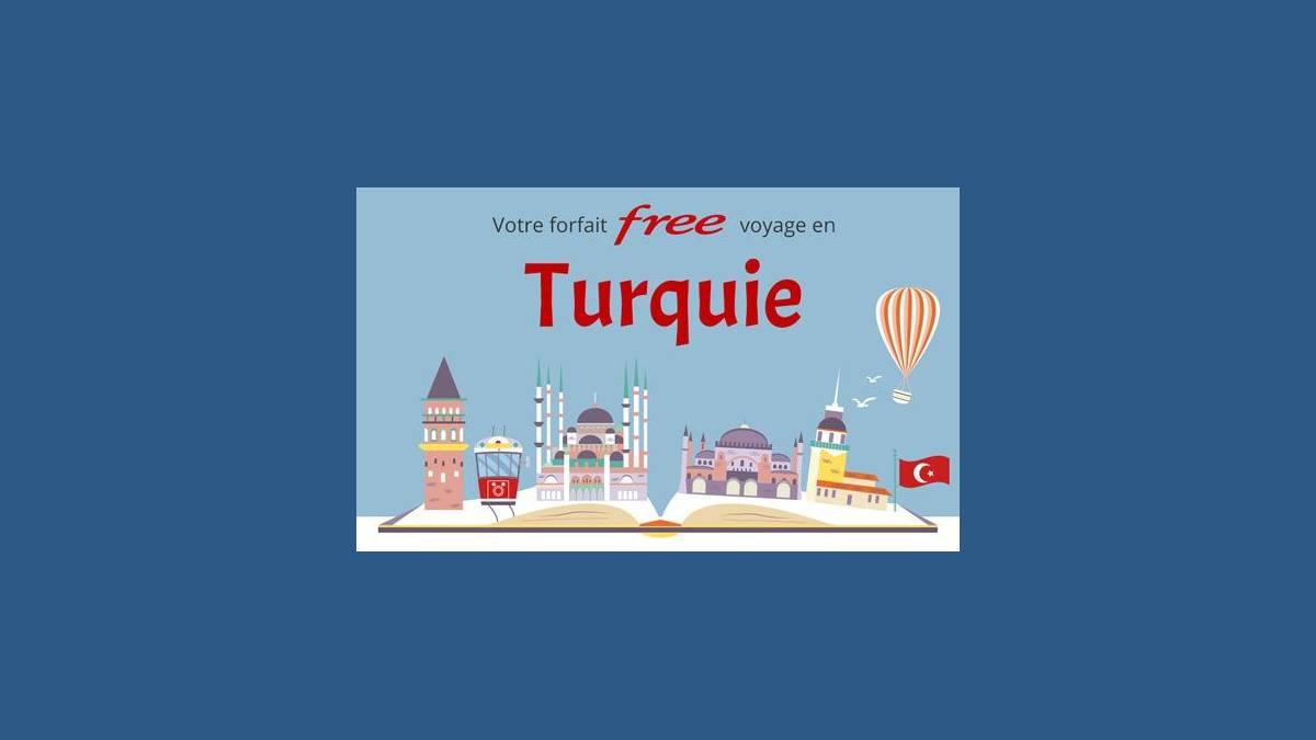 Roaming 25Go depuis la Turquie avec Free mobile
