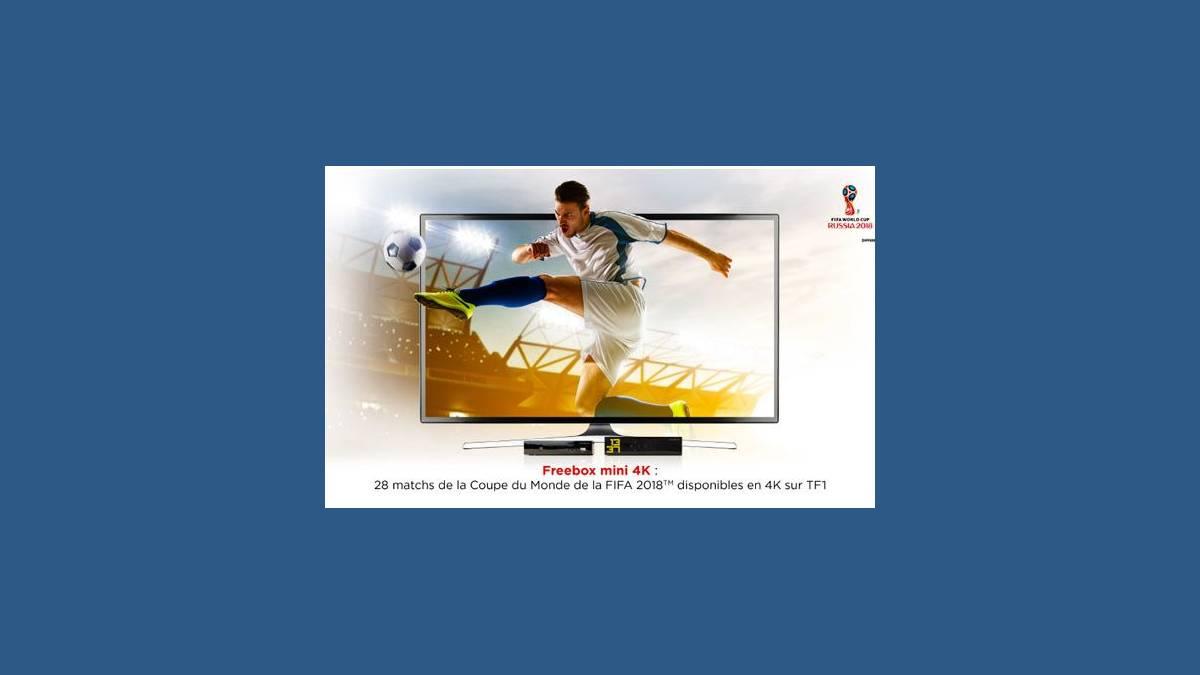 TF1 4K chaîne 101 de Free