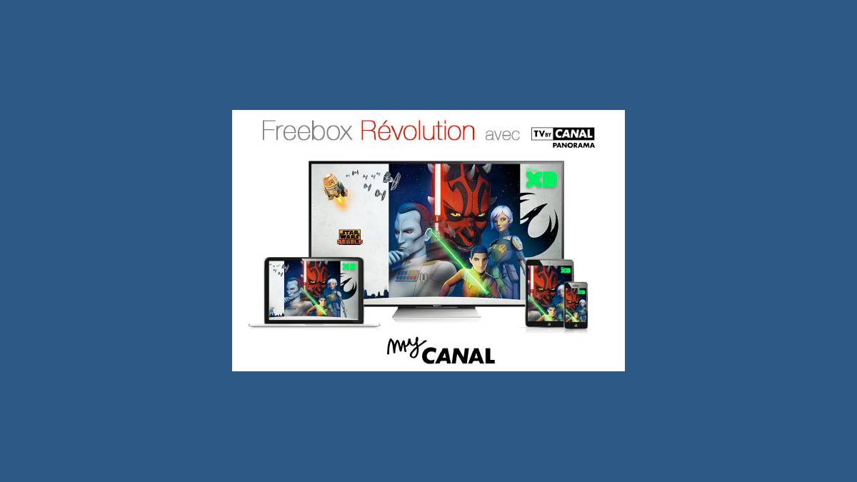 Freebox Révolution avec TV by CANAL Panorama