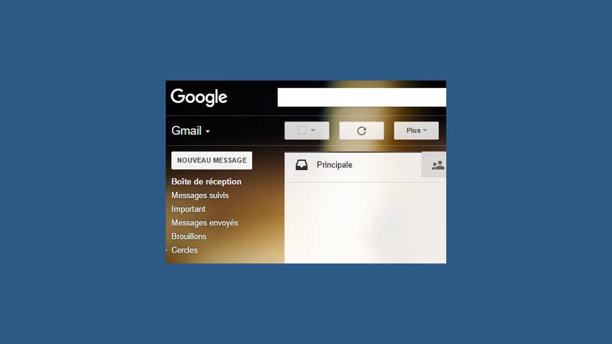 Gmail - boite de réception Chrome 56