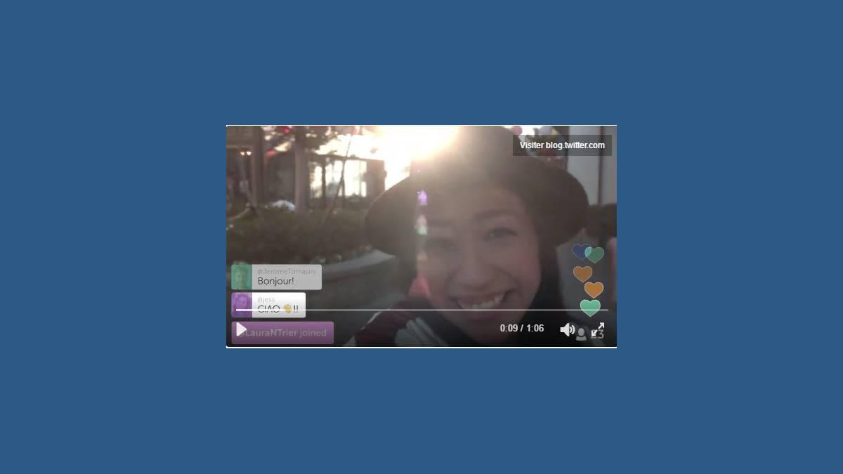 #GoLive avec Twitter et Periscope