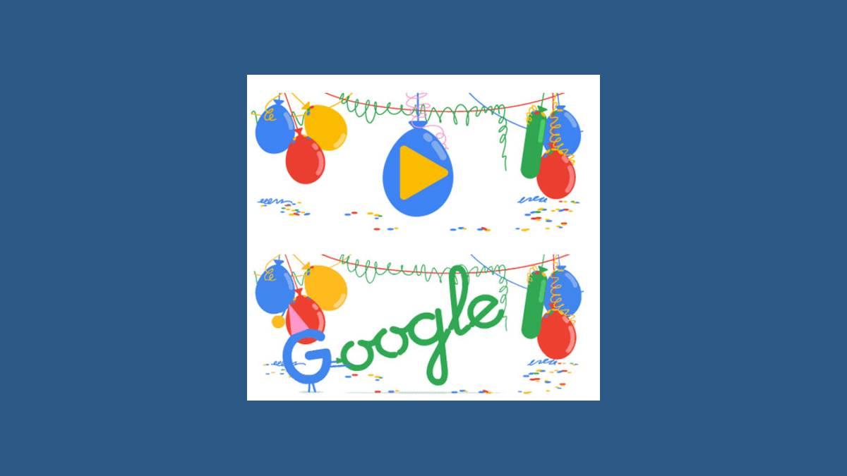 Google fête ses 18 ans