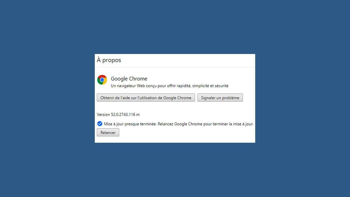 Téléchargez Google Chrome 53