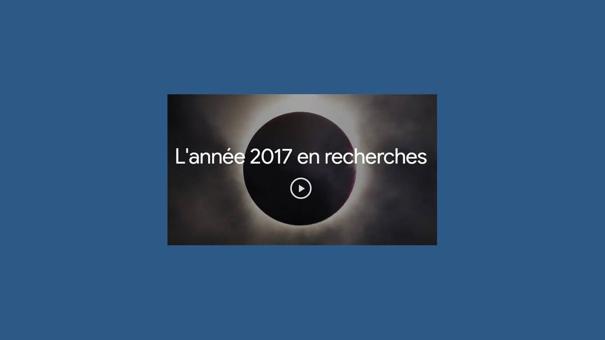 Recherches Google en 2017 - Year In Search 2017