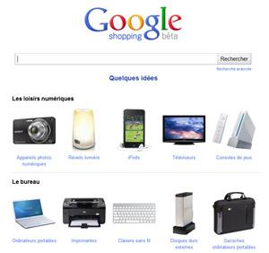 Google Shopping est en Français