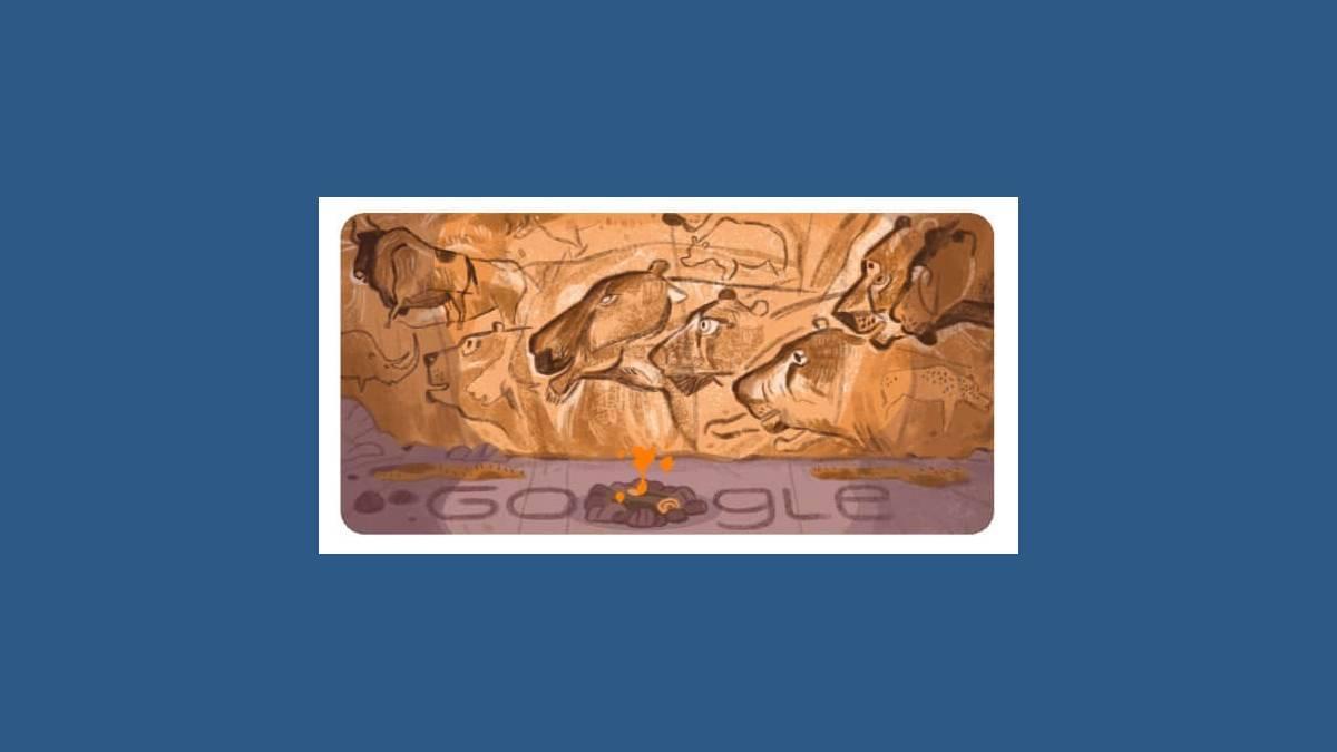 Doodle : Il y a 26 ans, la grotte Chauvet était découverte