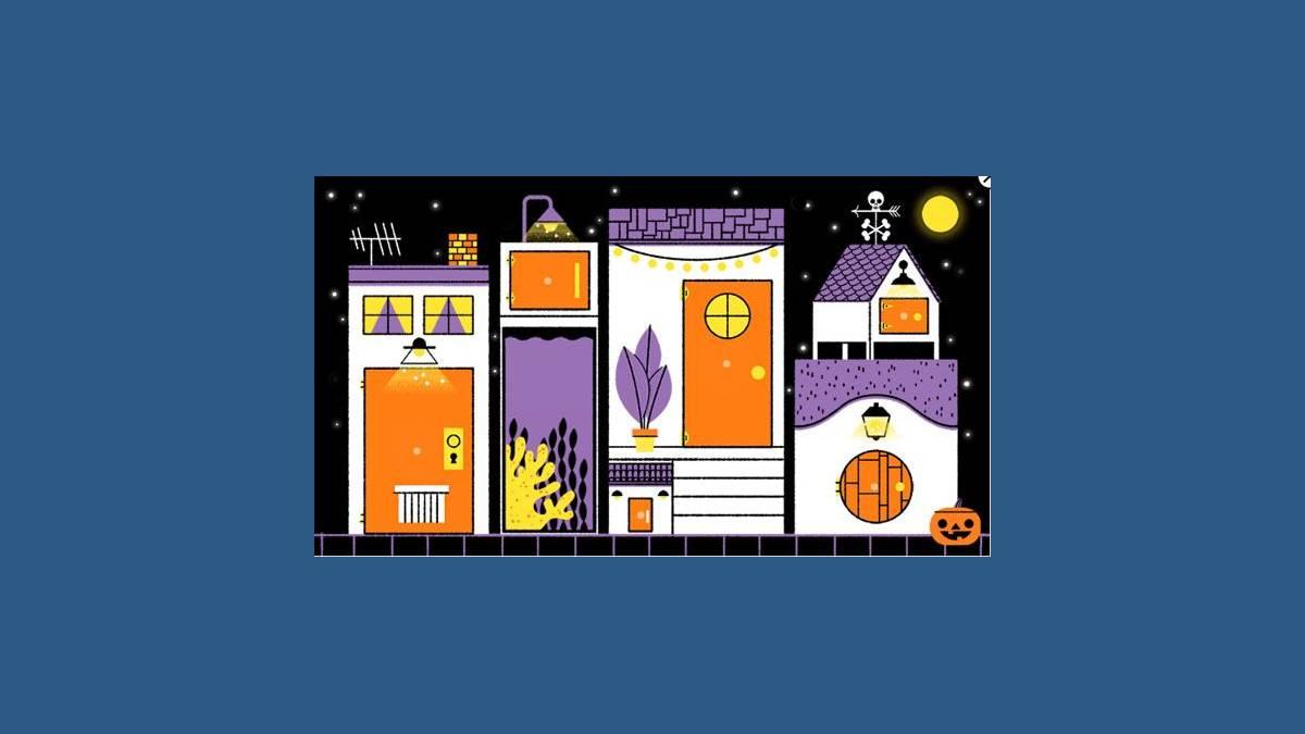 Joyeux Halloween 2019 #Google #Doodle