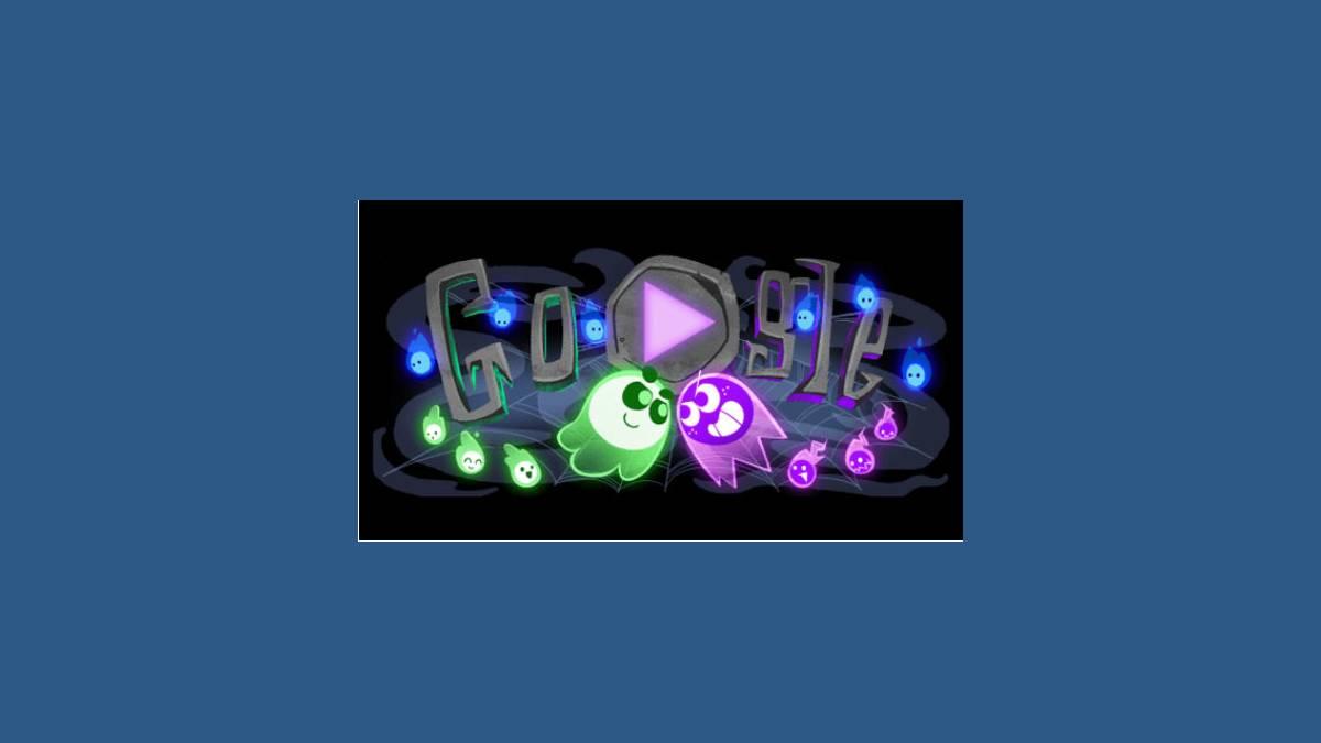 Joyeux Halloween #GoogleDoodle