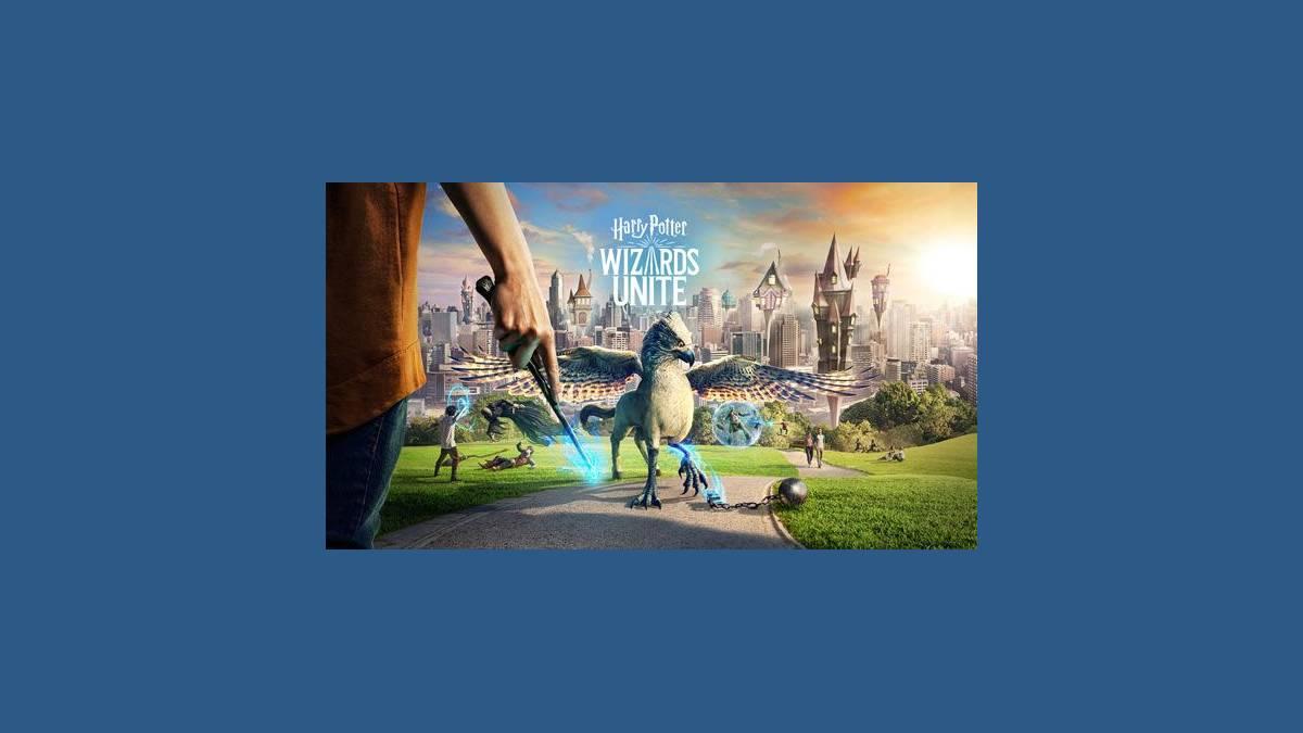 Jeu Harry Potter: Wizards Unite (capture site officiel)