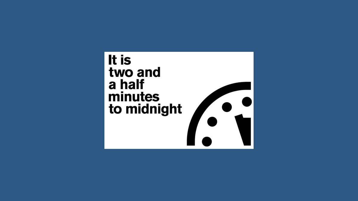 Doomsday Clock - horloge de l'apocalypse