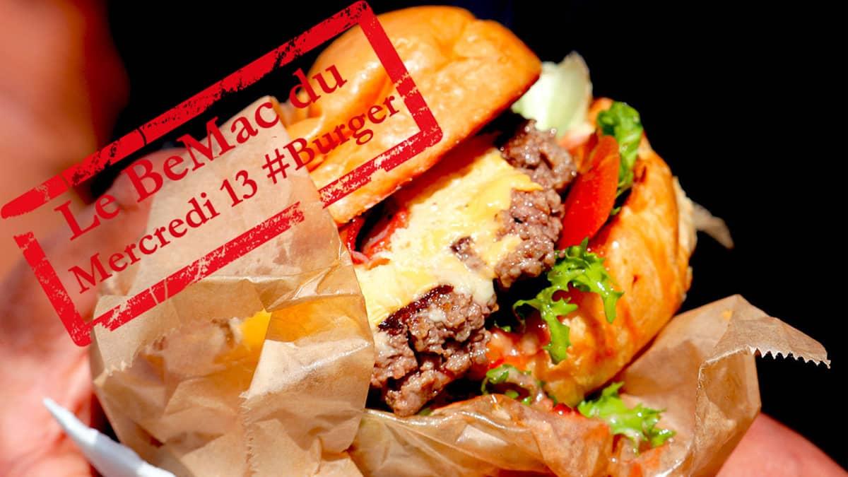 Le BeMac burger du mercredi 13 octobre 2021 en 3 minutes