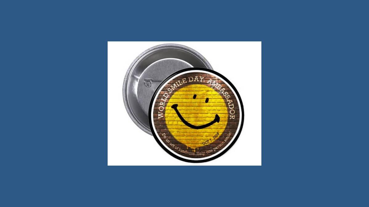 Smiley Stamp - journée mondiale du sourire