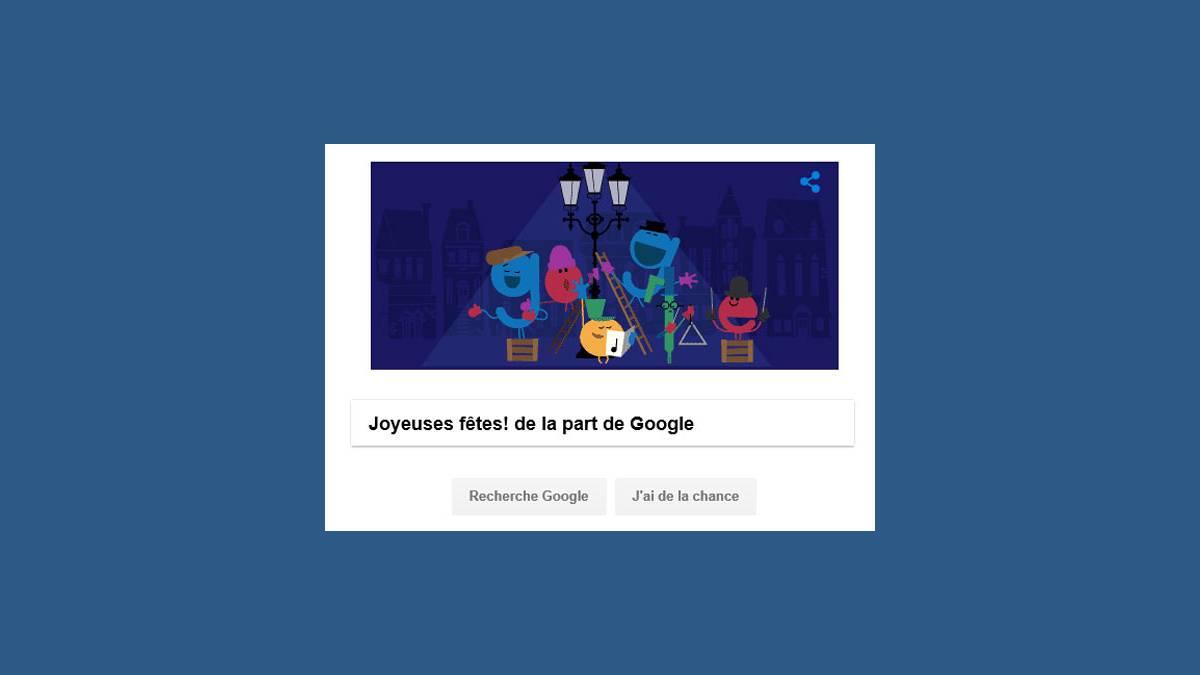 Doodle Joyeuses Fêtes 2016