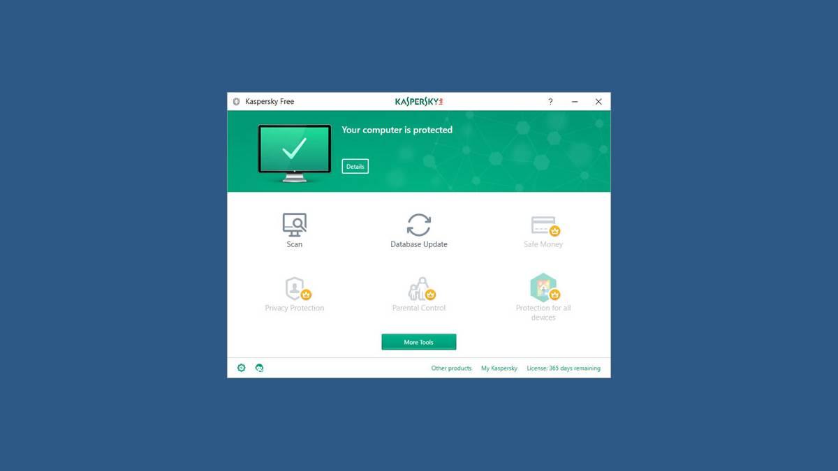 Kasperky Free Antivirus