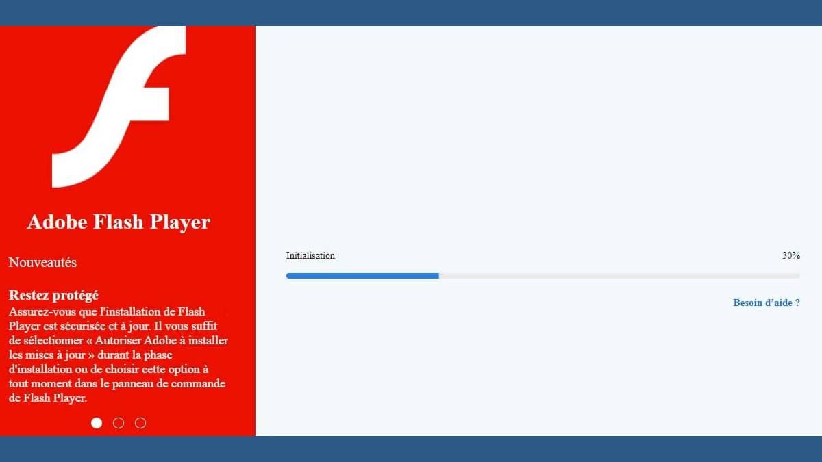 La fin de Flash Player est fixée au 31 décembre 2020
