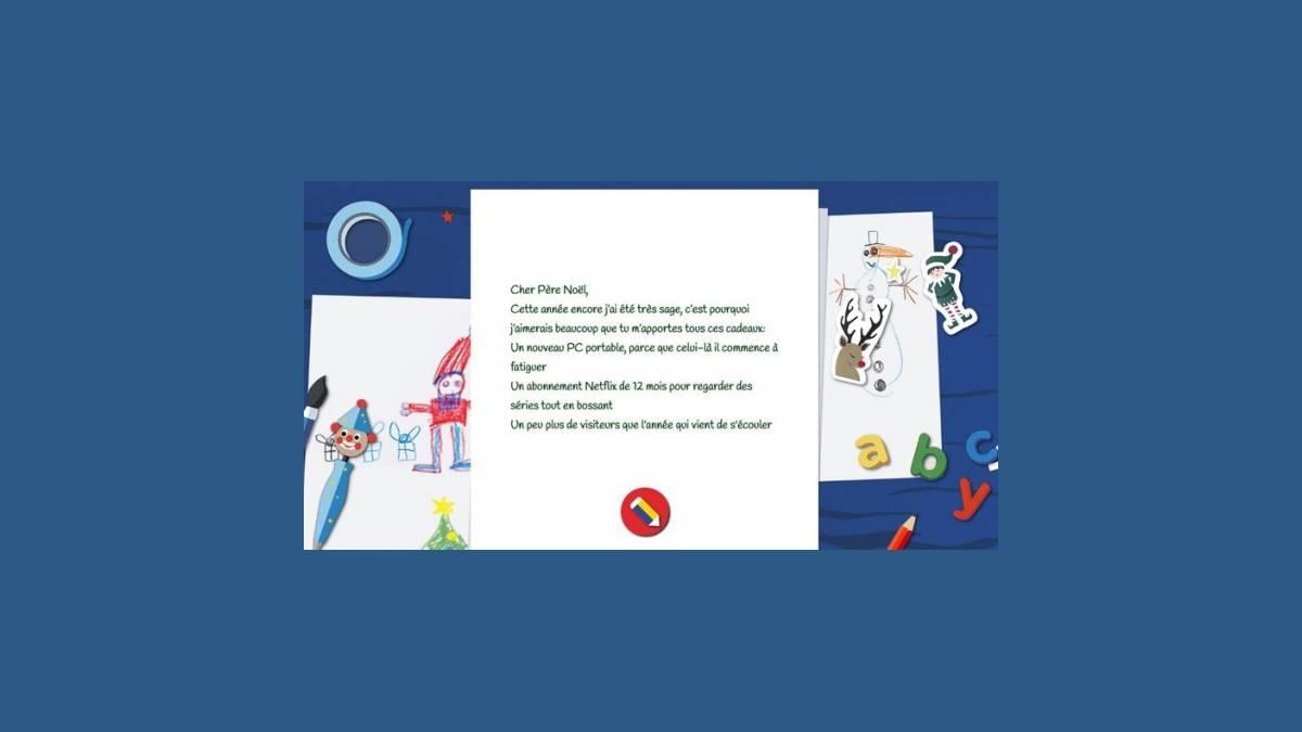 Envoyer un mail au Père Noël