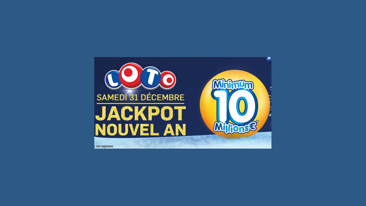 Loto super jackpot de 10 millions d'euros
