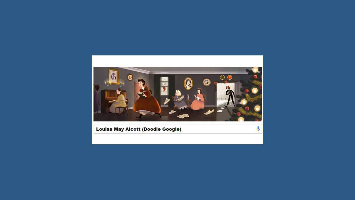 Doodle Louisa May Alcott