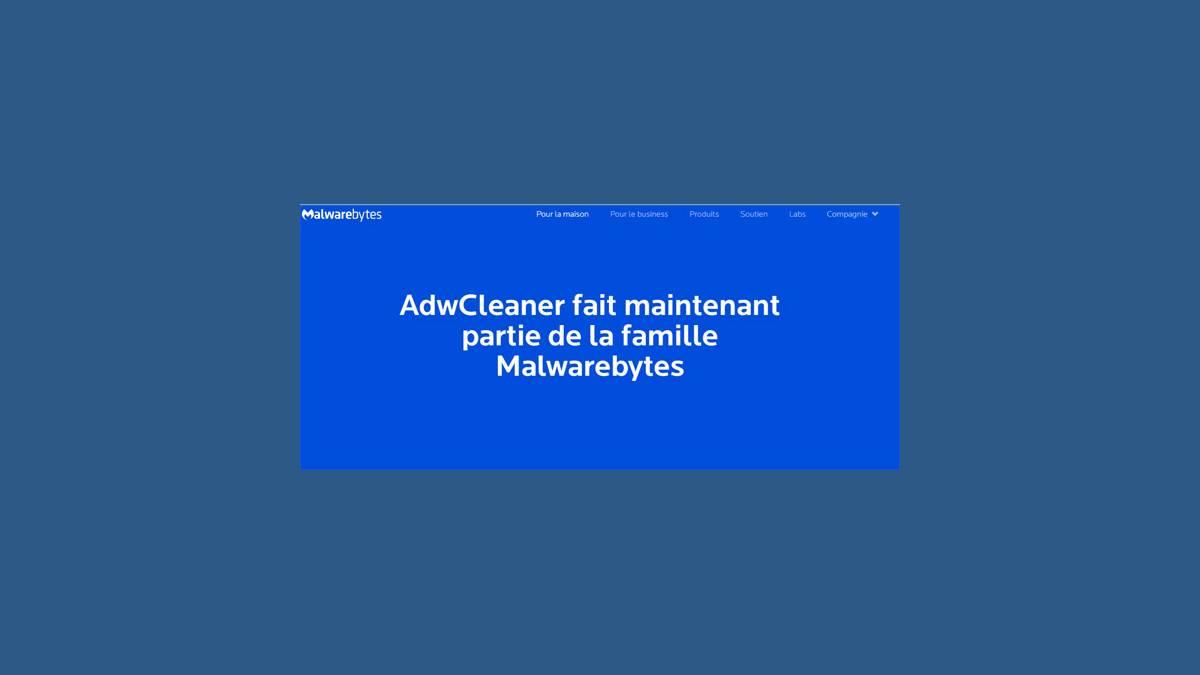 Malwarebytes rachète AdwCleaner