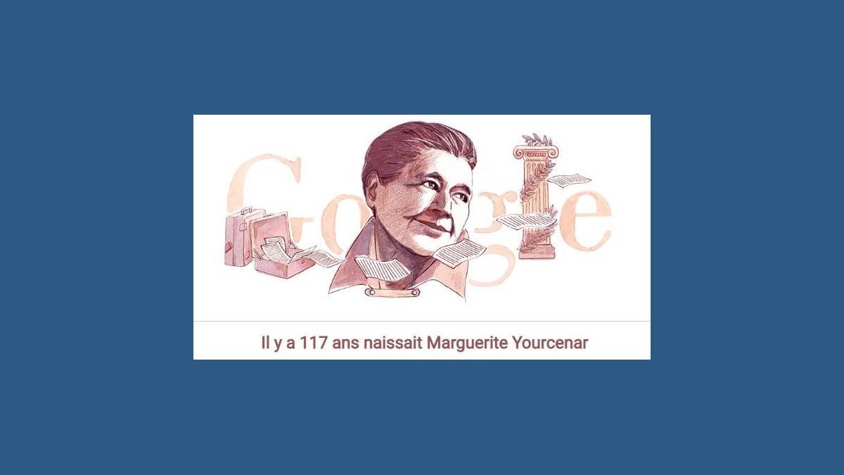 Doodle Marguerite Yourcenar