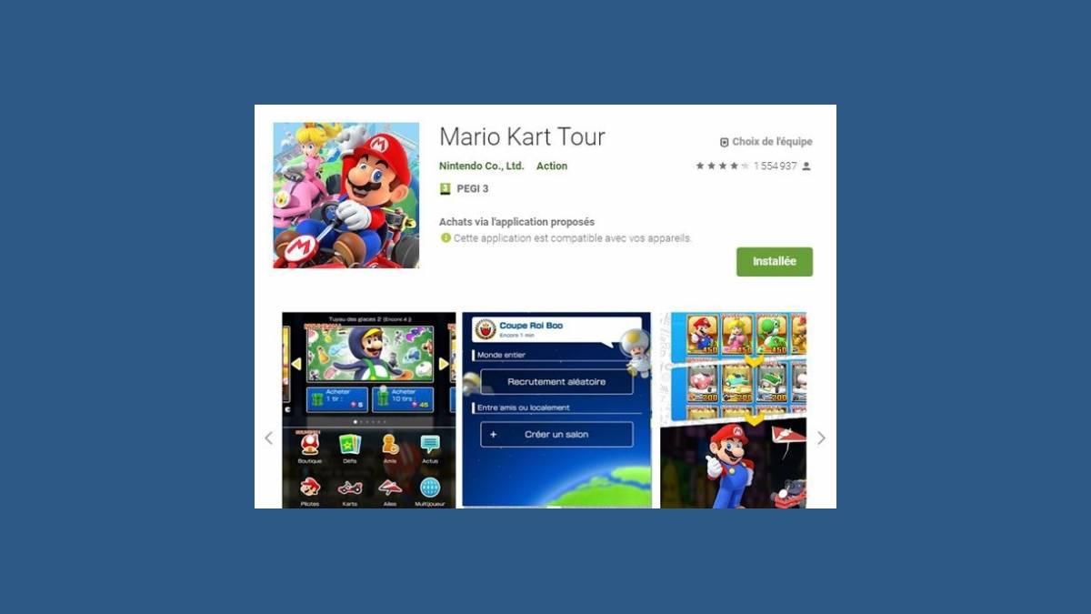 Jour J pour tester le mode multijoueur sur Mario Kart Tour