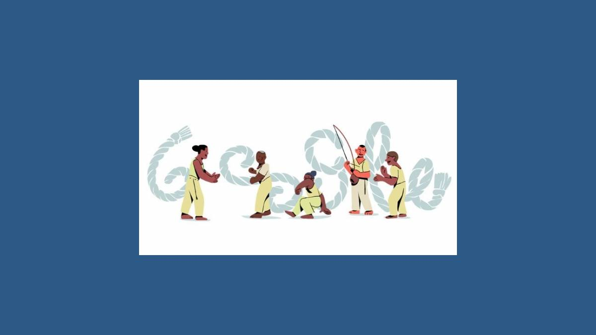 Doodle Google - Mestre Bimba