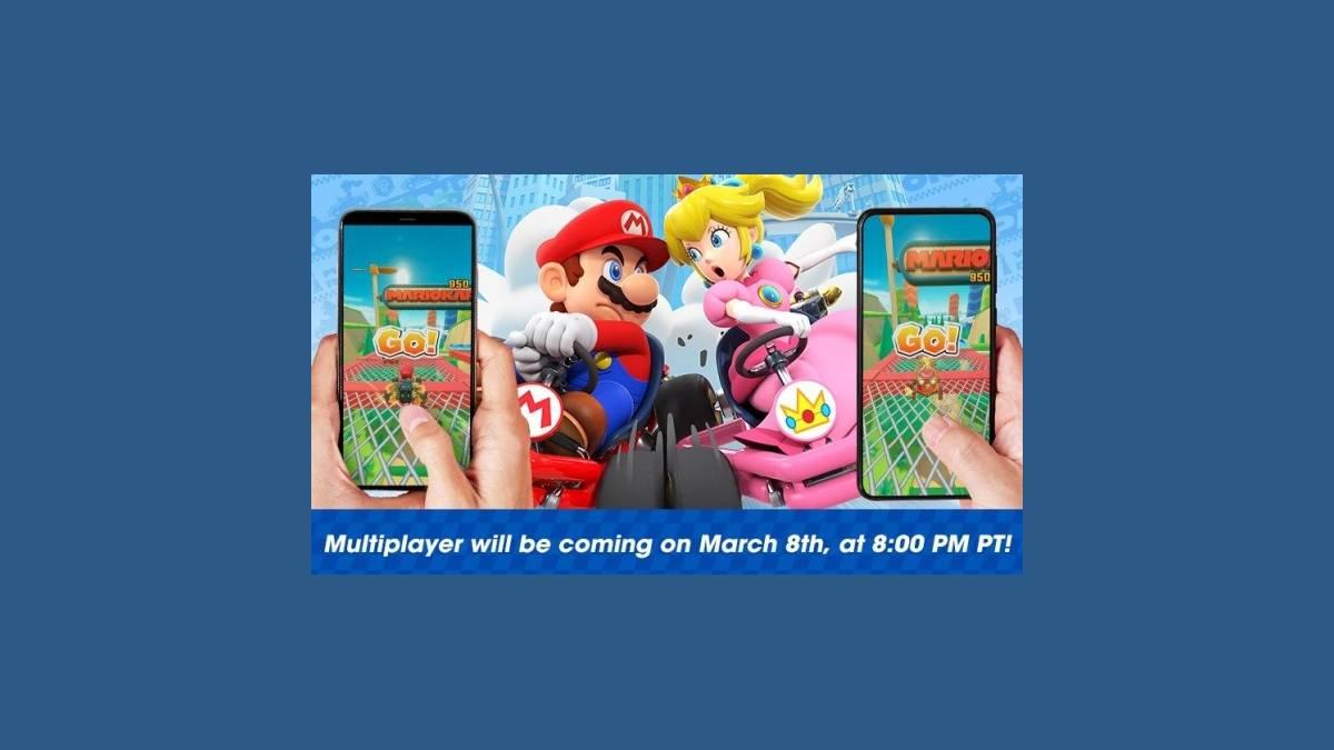 Mode multijoueur sur Mario Kart Tour iOS et Android