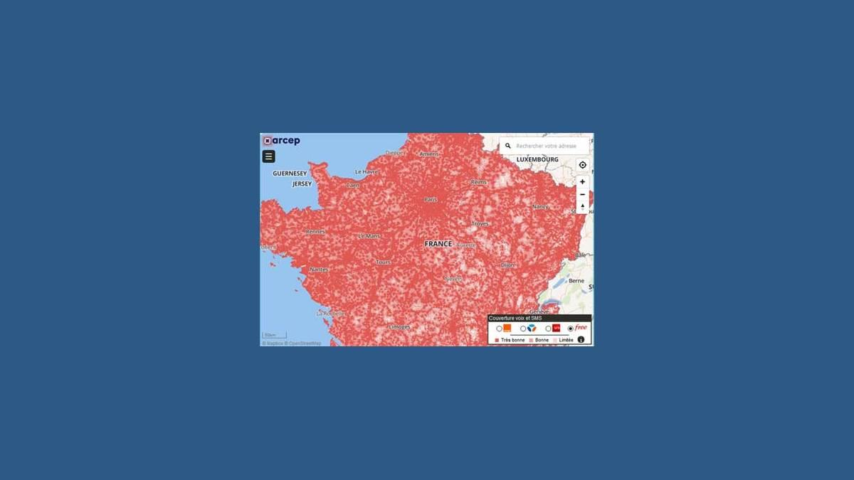 Carte 2G 3G et 4G monreseaumobile.fr