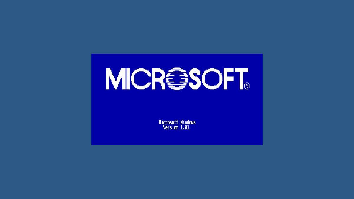 MS-DOS Windows 1.0