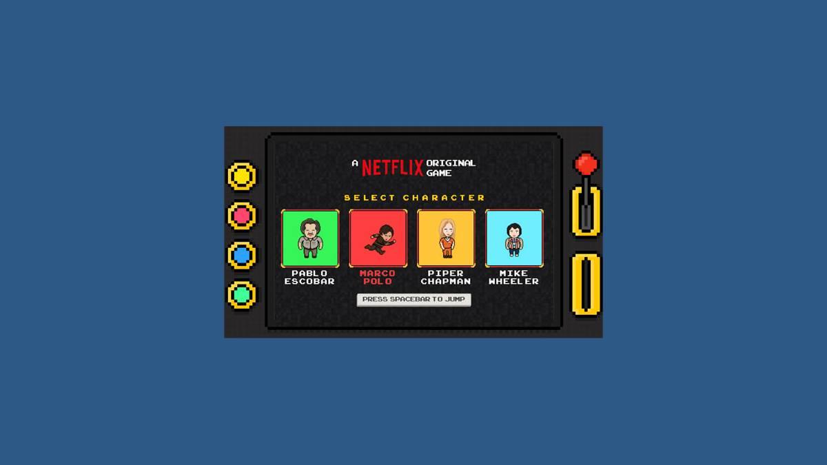 Netflix - le jeu original