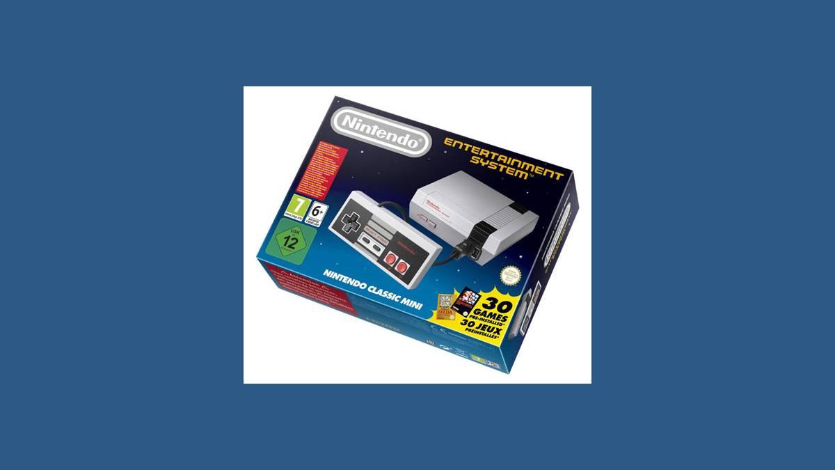 Nintendo, Classic Mini NES, NES, Console