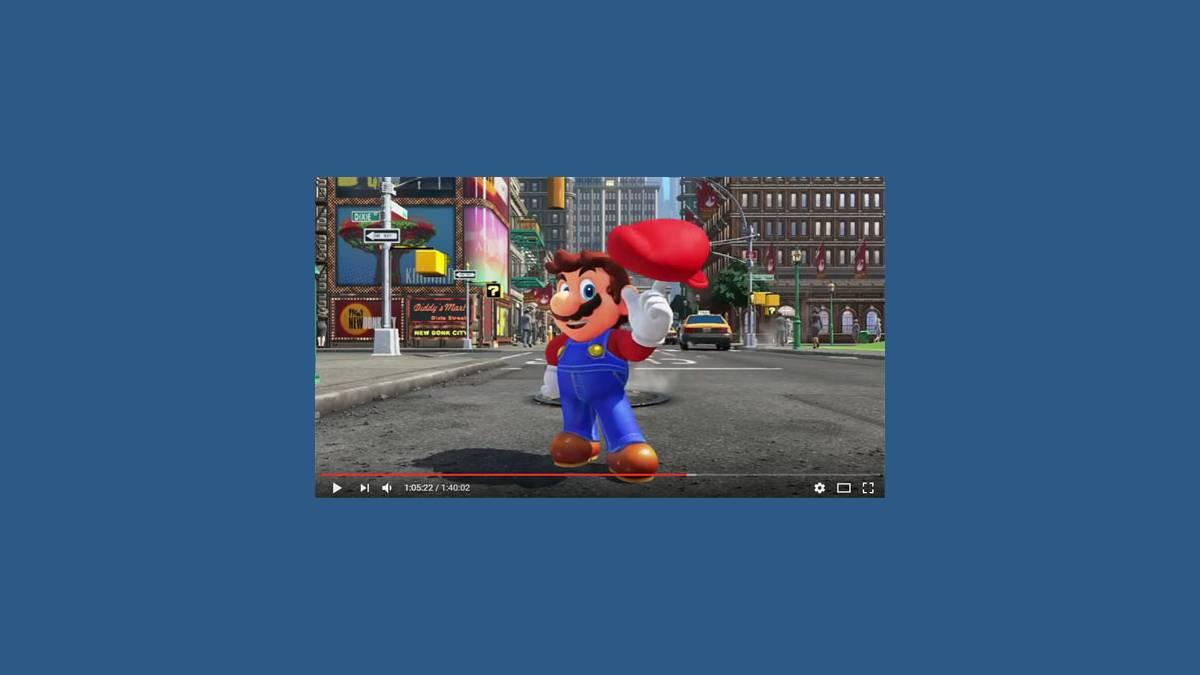 Nintendo Switch et Super Mario Odyssey