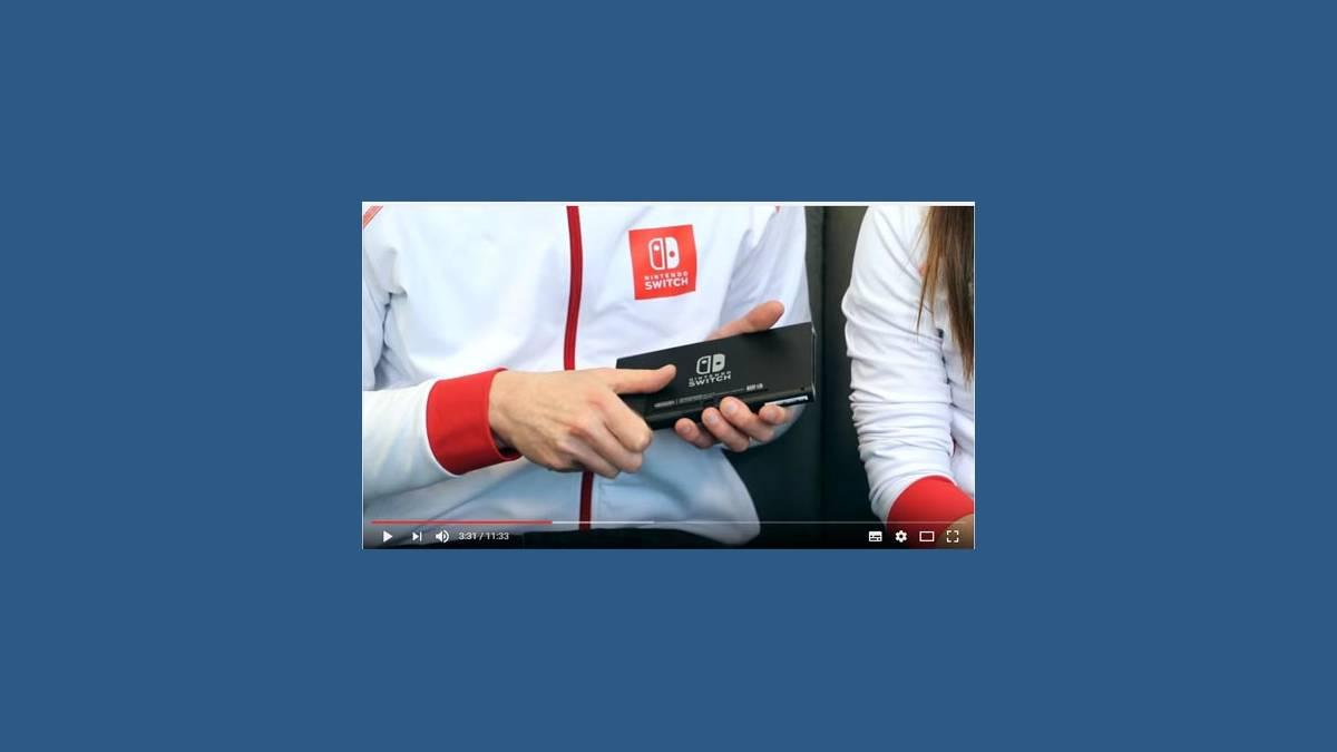 Unbox de la Nintendo Switch