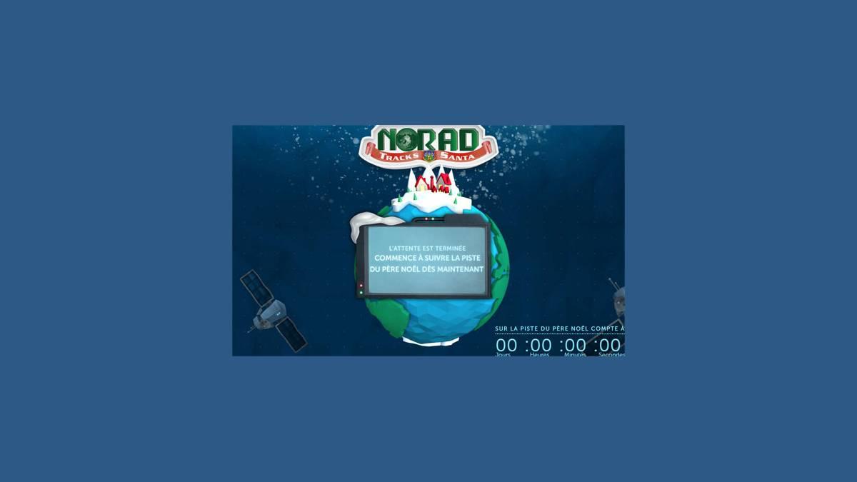 Norad et Google  - suivez le Père Noël à la trace