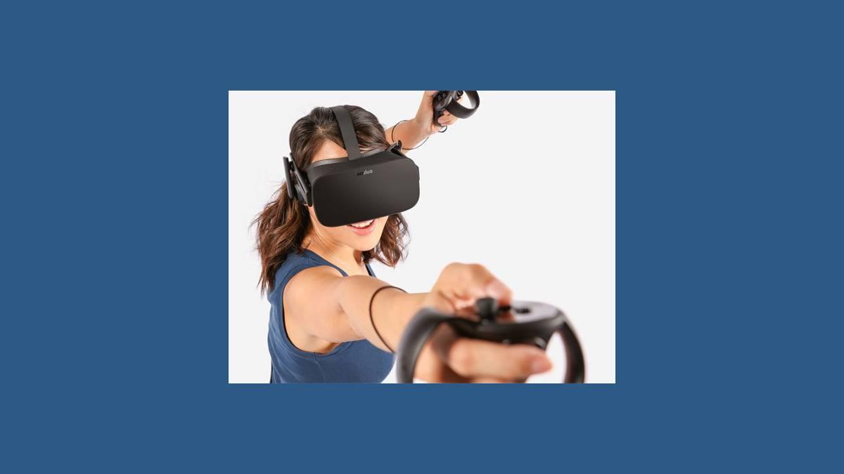 Oculus Rift et Oculus Touch en action
