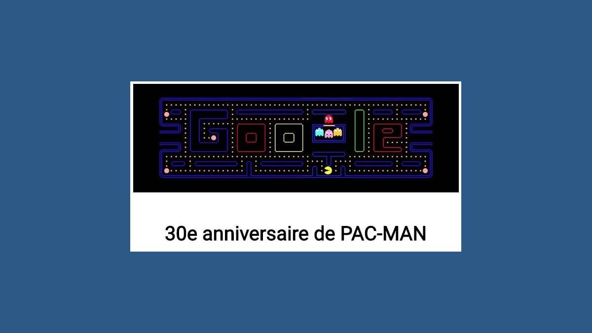 Google et son Doodle Pac-Man