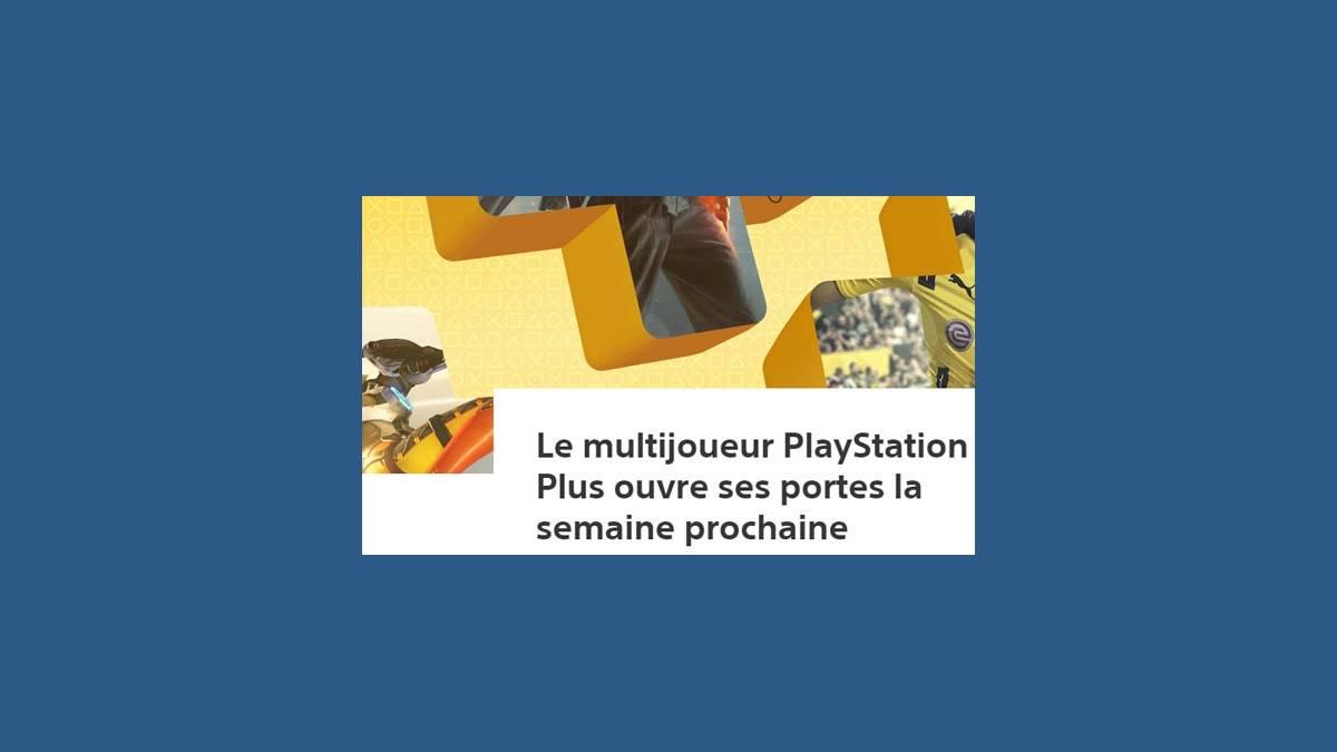PlayStation Plus bientôt gratuit