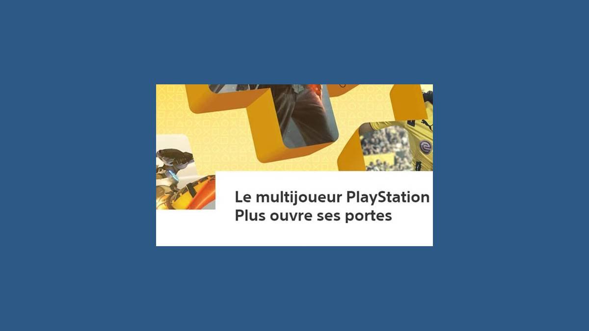 PlayStation Plus gratuit depuis ce matin