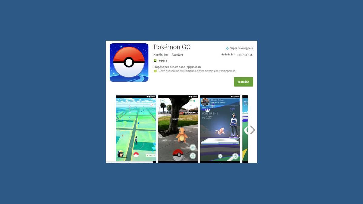 Mise à jour Pokémon Go du 28 janvier