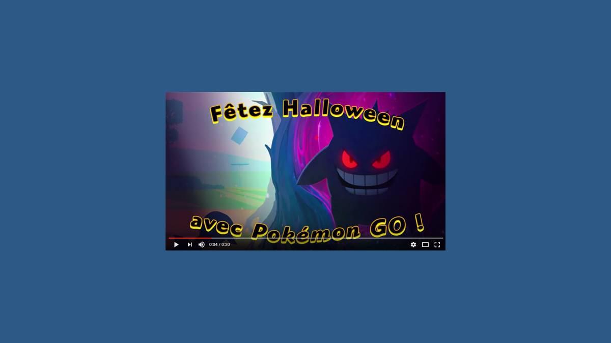 Pokémon Go fête Halloween