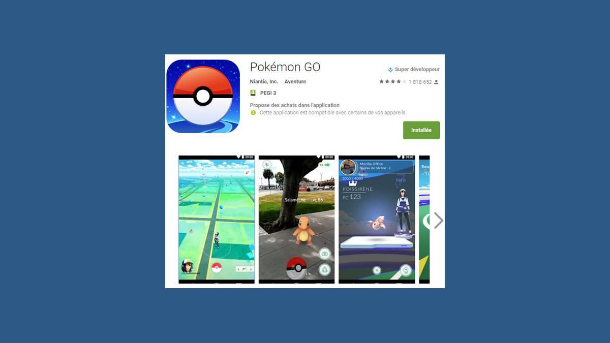 Pokemon Go bon pour la santé ?