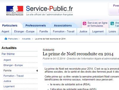 Caf La Prime De Noel Reconduite En 2014 Montants Modalites Et