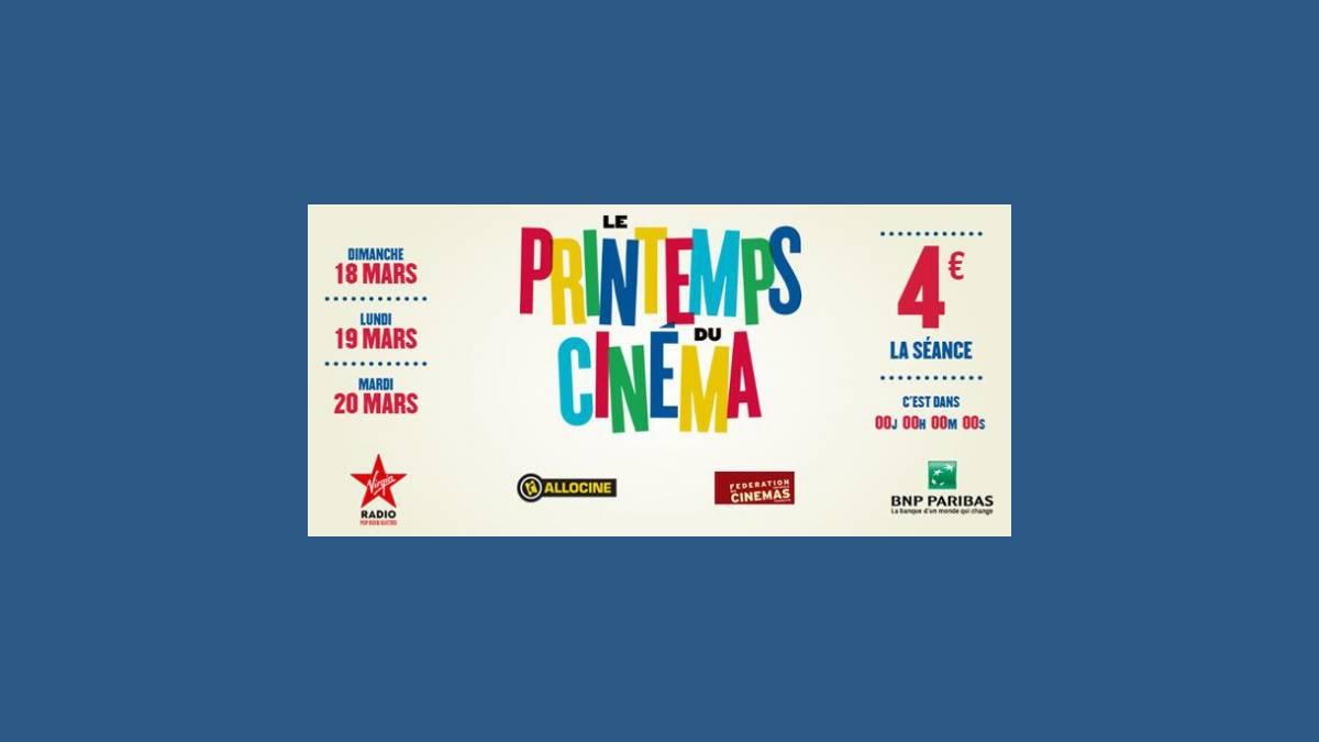 19ème édition du « Printemps du Cinéma »