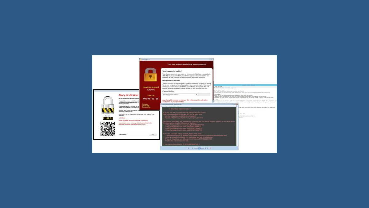 Capture blog Microsoft Ransomware