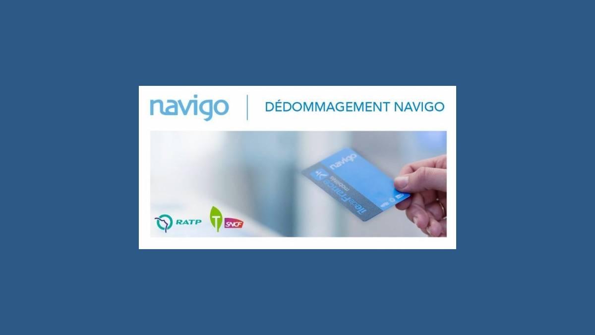 Remboursement du Pass Navigo IDFmobilites, mondedommagementnavigo