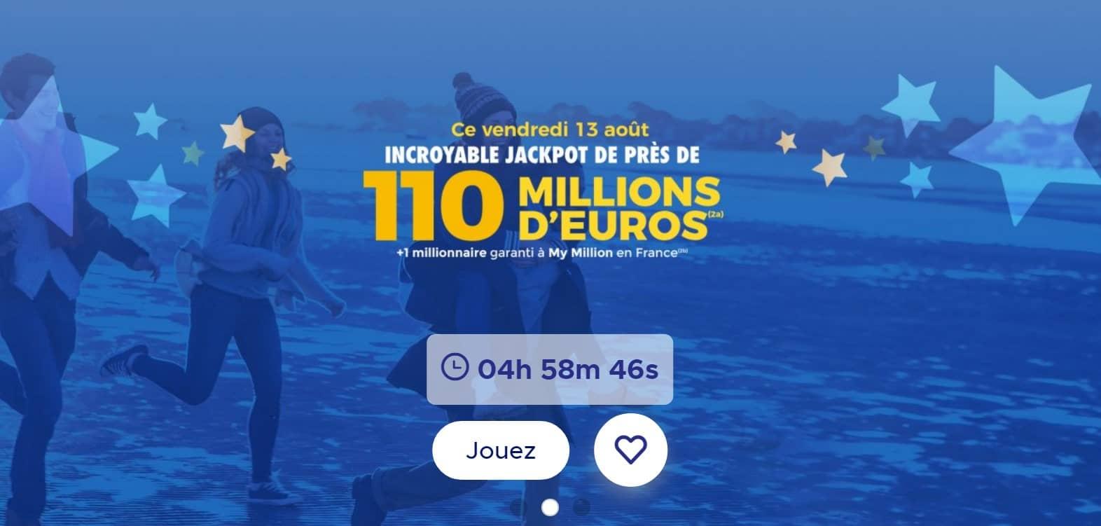 Capture Super Loto Euromillions vendredi 13 FDJ