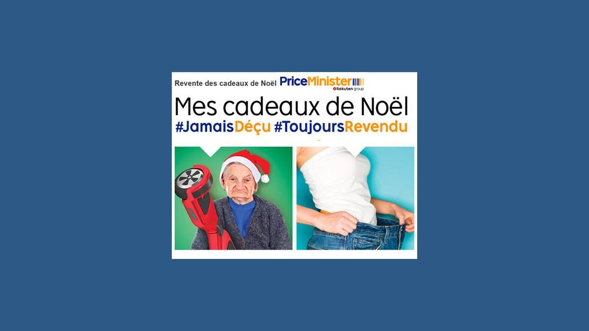 La revente des cadeaux de Noël 2017 chez Priceminister