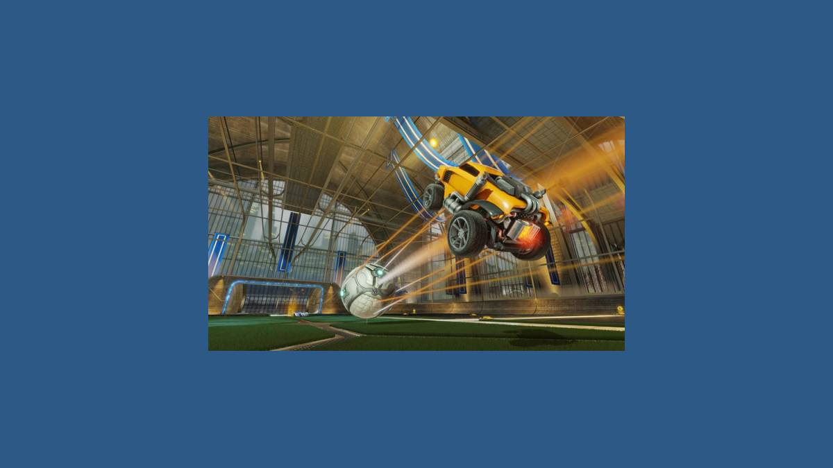Le jeu Rocket League PS4 et PC
