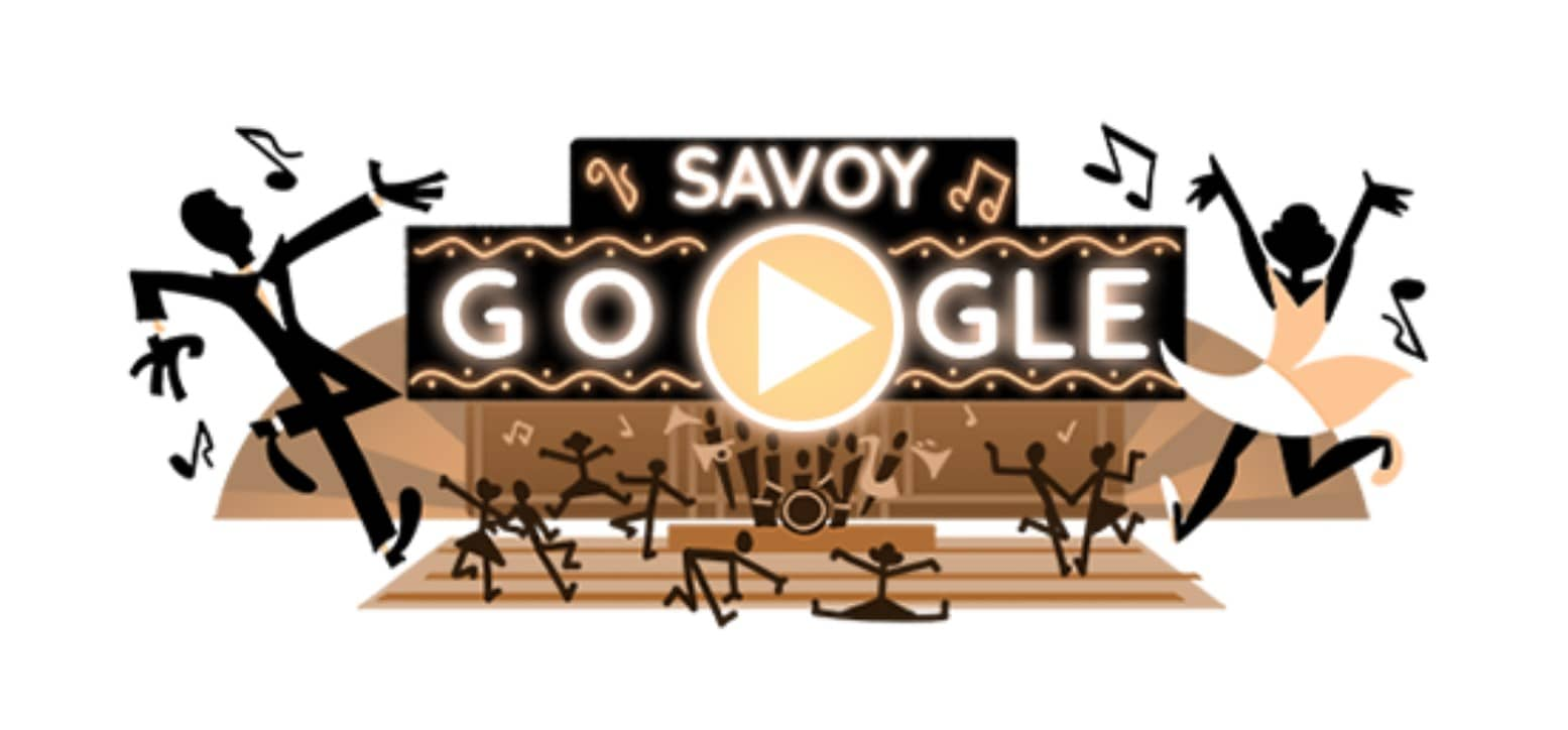 Doodle interactif Savoy Ballroom