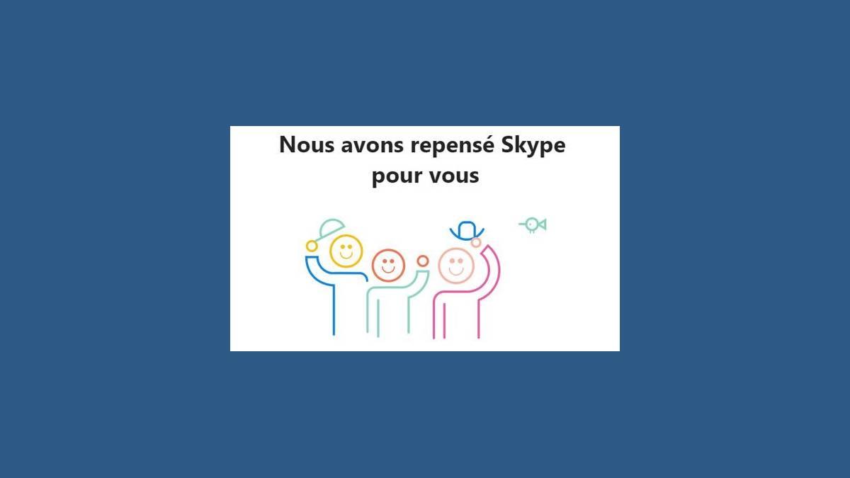 Présentation nouvelle version de Skype 8.30